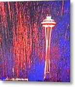 4th Space Needle Metal Print