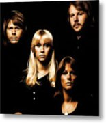 Abba Collection Metal Print