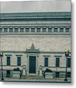 Architecture And Buildings On Streets Of Washington Dc Metal Print