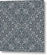 Aztec Navajo Pattern Background Metal Print