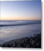 Ballynaclash Beach At Dawn Metal Print