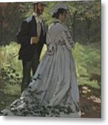 Bazille And Camille Metal Print