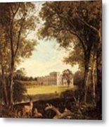 Boddington Henry John A View Of Norton Hall Henry John Boddington Metal Print