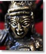 Buddha Sculpture Metal Print