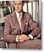 Cary Grant, Vintage Actor Metal Print