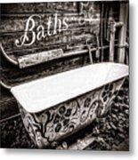 5 Cent Bath Metal Print