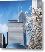 Chicago Bean Millenium Park Metal Print