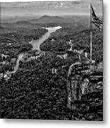 Chimney Rock At Lake Lure Metal Print
