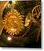 Christmas Tree Decorations Metal Print