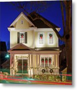Christmas Village Metal Print