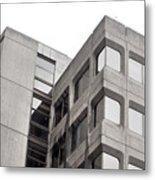 Concrete Building Metal Print