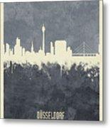 Dusseldorf Germany Skyline Metal Print