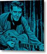 Eddie Cochran Collection Metal Print
