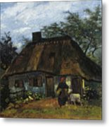 Farmhouse In Nuenen Metal Print