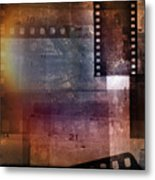 Film Strips 3 Metal Print