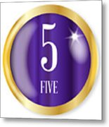 5 For Five Metal Print