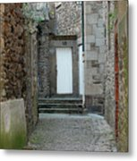 French Doors Metal Print