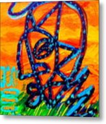 From The Hill And Beyond Metal Print