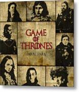 Game Of Thrones. House Stark. Metal Print