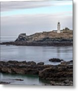 Godrevy Lighthouse - England Metal Print