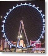 High Roller - Las Vegas Nevada Metal Print