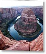 Horseshoe Bend Colorado River Arizona Usa Metal Print