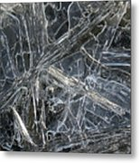 5. Ice Pattern 4, Corbridge Metal Print