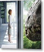 Jurassic World 2015  Metal Print