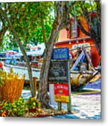 Key West Florida The Conch Republic Metal Print