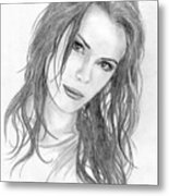 Miss Beckinsale  Metal Print