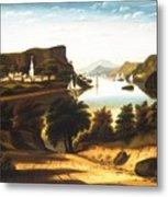 Lake George And The Village Of Caldwell Metal Print
