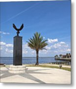 Lake Monroe At The Port Of Sanford Florida Metal Print