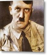 Leaders Of Wwii, Adolf Hitler Metal Print