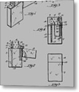 Lighter Patent From 1934 Metal Print