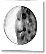 Moon Phase Metal Print