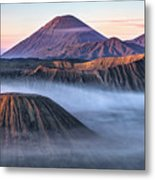 Mount Bromo - Java Metal Print