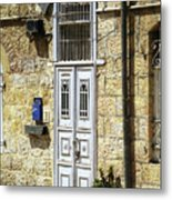 old suburb in Jerusalem. Metal Print