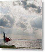 On The Way To Isla Muheres Metal Print