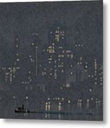 Pennell, New York City.  Metal Print
