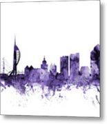 Portsmouth England Skyline Metal Print
