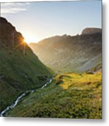 Rila Mountain Metal Print