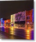 Rochester Christmas Light Display Metal Print