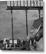 Route 66 - Mule Trading Post Metal Print