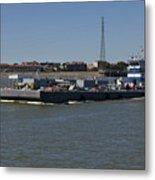 Shipping - New Orleans Louisiana Metal Print