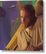 Star Wars 3 Art Metal Print