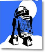 Star Wars R2-d2 Collection Metal Print