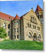 Stewart Hall At West Virginia University Metal Print