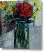 Still Life Metal Print by George Siaba