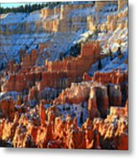 Sunset Point In Bryce Canyon Metal Print by Pierre Leclerc Photography