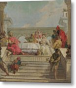 The Banquet Of Cleopatra Metal Print